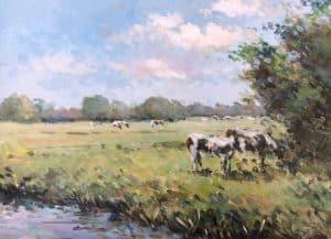 Heemstede, koeien in de wei